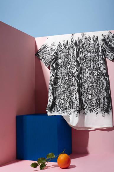 Платье из цитрусового волокна,Salvatore Ferragamo
