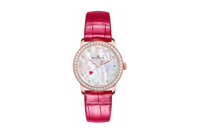 Часы Valentine's Day 2021, Blancpain, цена по запросу (Tourbillon)