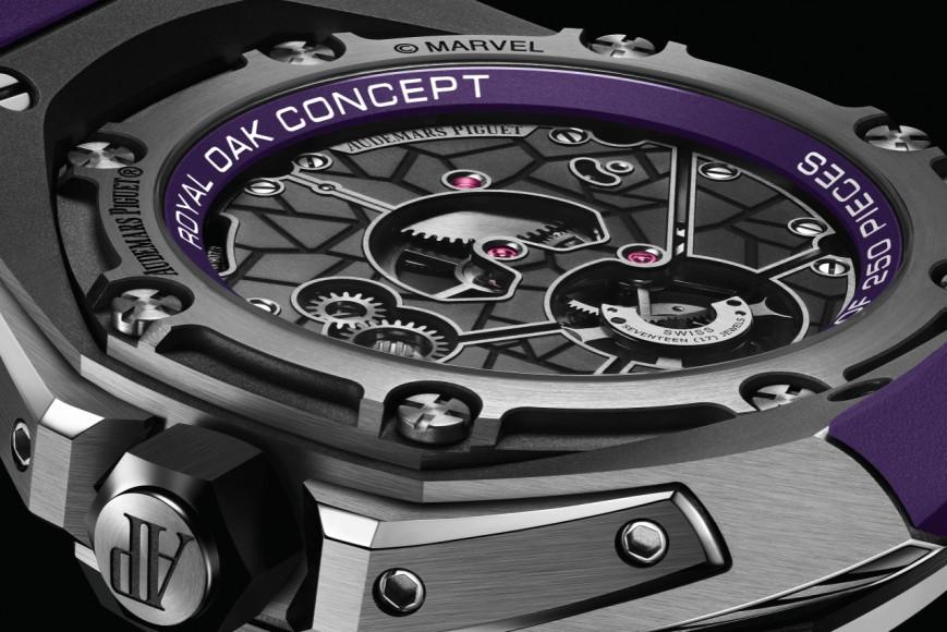 Часы Royal Oak Concept «Black Panther», Audemars Piguet X Marvel
