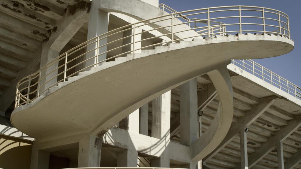 Лестница стадиона во Флоренции. 1932