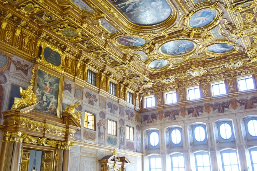 Золотой зал городской ратуши в Аугсбурге