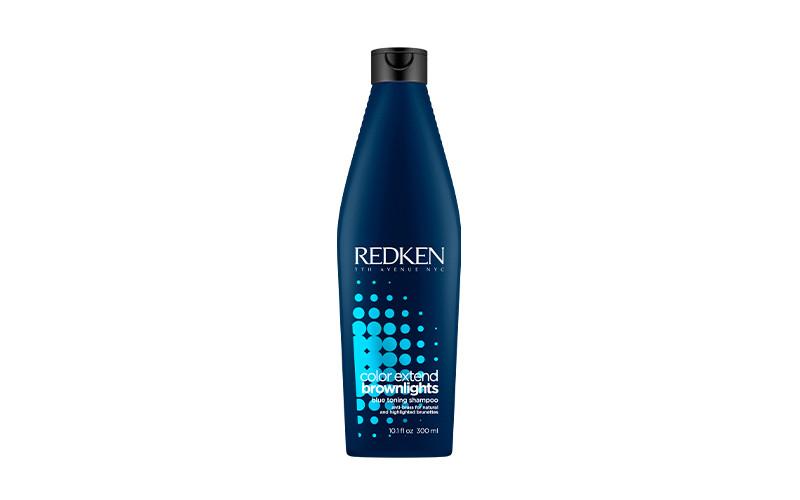 Шампунь с синим пигментом для нейтрализации темных волос Color Extend Brownlights, Redken