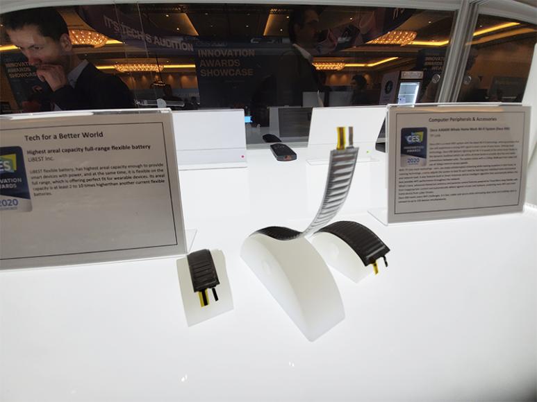 Гибкие батареи, дающие еще один стимул к развитию устройств с гибкими дислпеями