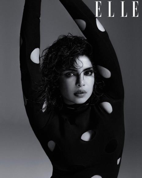 Приянка Чопра в кавер-стори британского Elle, март 2021
