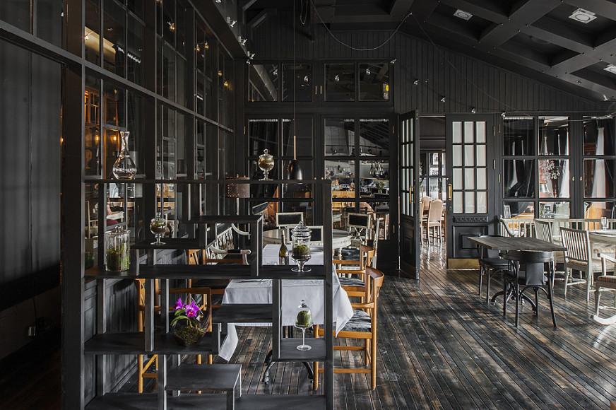 Интерьер ресторана и чайной