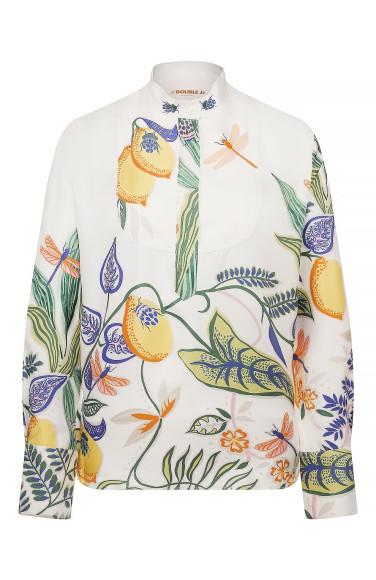Шелковая рубашка La DoubleJ, 42 750 руб.