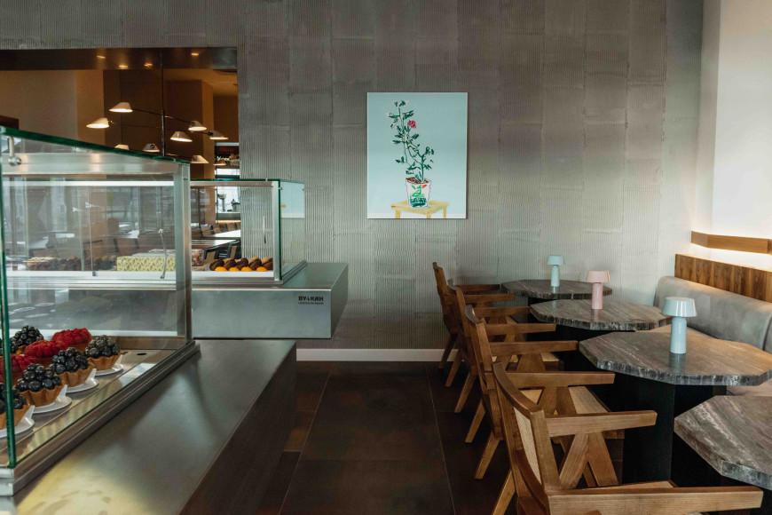 Интерьер Gentle Cafe