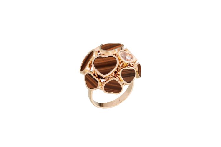 Кольцо Happy Hearts, Chopard