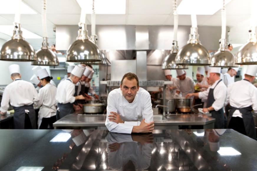 Шеф-повар ресторана Eleven Madison Park Даниель Хамм