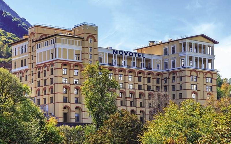 Отель Novotel Resort Krasnaya Polyana Sochi