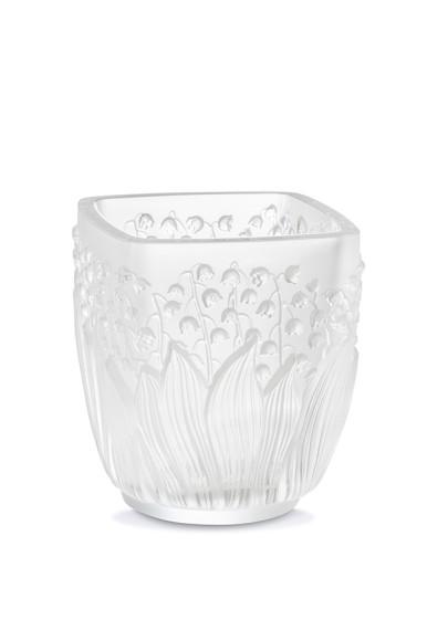 Подсвечник «Ландыши», хрусталь, 10см, 43 050 руб., Lalique