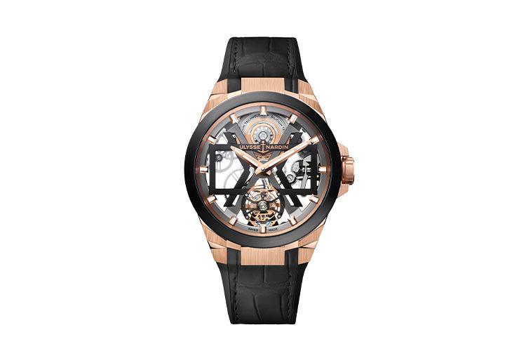 Часы Rose Gold Blast, Ulysse Nardin