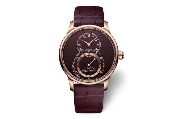 Часы Grande Seconde Quantieme Burgundy, Jaquet Droz