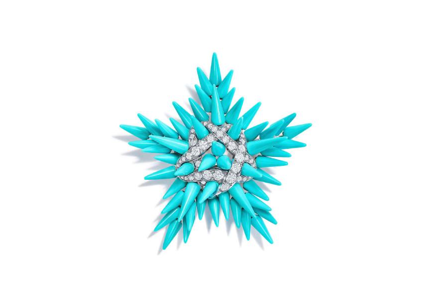 Брошь Epine Starfish, Tiffany & Co. Schlumberger
