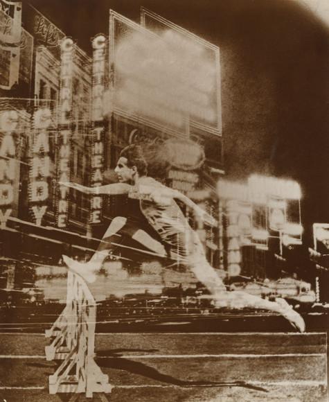Эль Лисицкий. «Бегун в городе», 1926