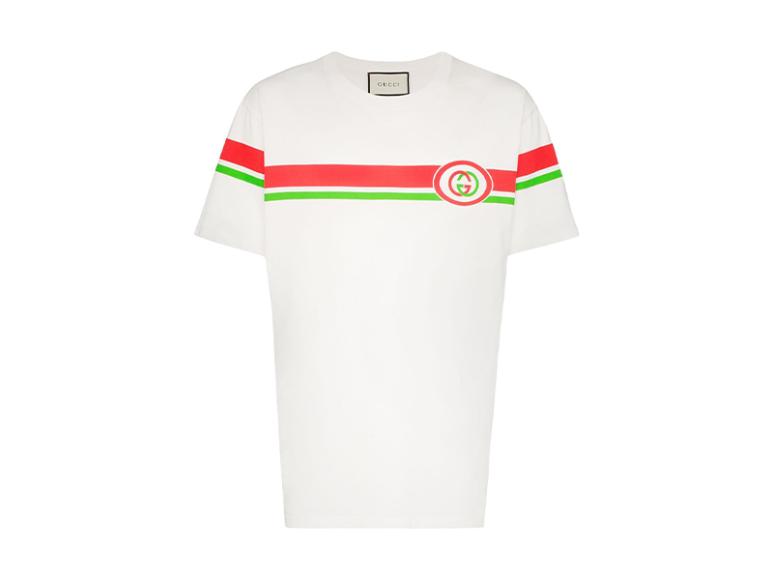 Мужская футболка Gucci, 23 050 руб. (farfetch.com)