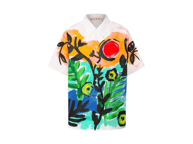 Женская рубашка Marni, 48 000 руб. (tsum.ru).