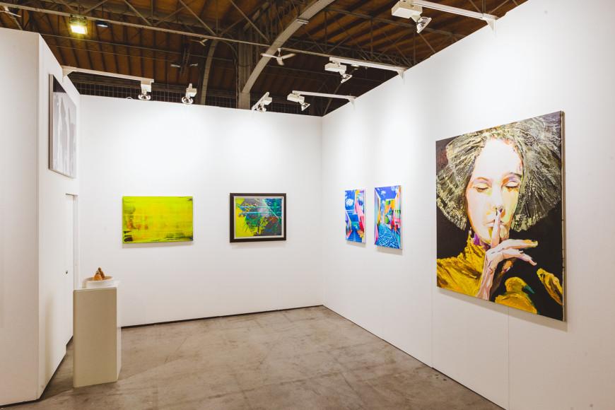 Стенд Galerie Michael Schultz (Берлин)