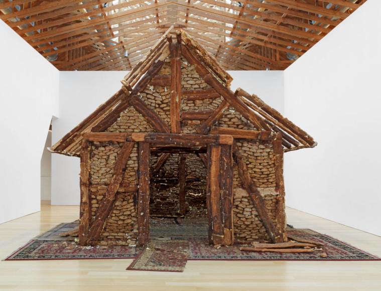 Урс Фишер, без названия («Хлебный дом»), 2004–2005