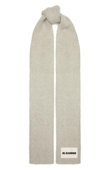 Шерстяной шарф Jil Sander, 39950 руб.