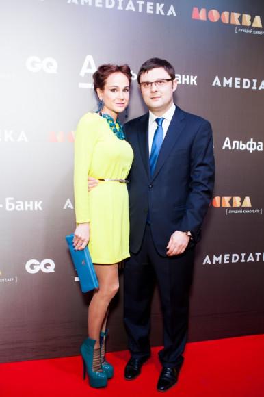 Василий Церетели, художник с супругой Кирой Сакарельо