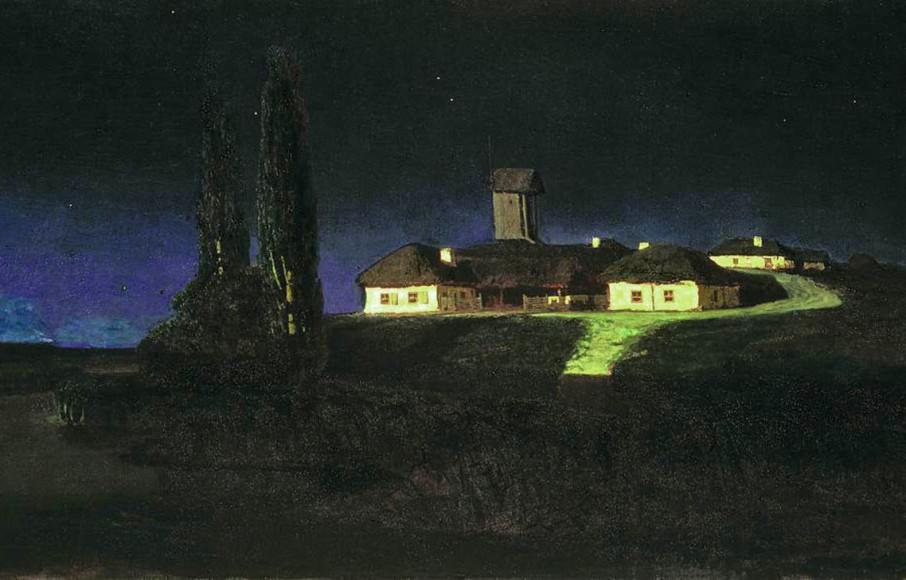 Архип Куинджи, «Украинская ночь»