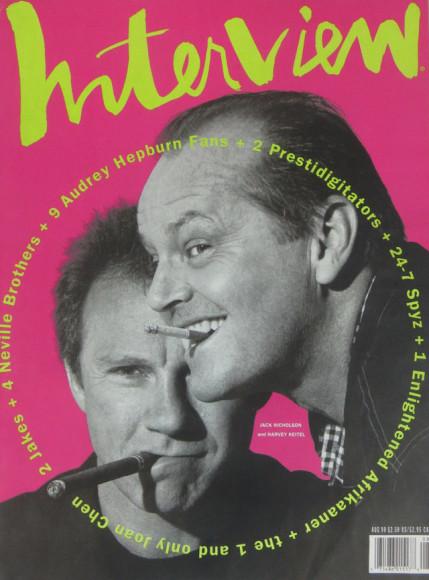 Харви Кейтель и Джек Николсон, обложка 1990 года