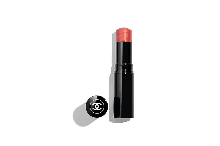 Увлажнящийстик-хайлайтер для лица, глаз и губ Baume Essentiel, оттенок Rose, Chanel