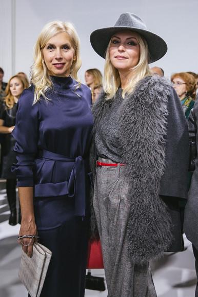 Алена Свиридова и Дарья Махалкова