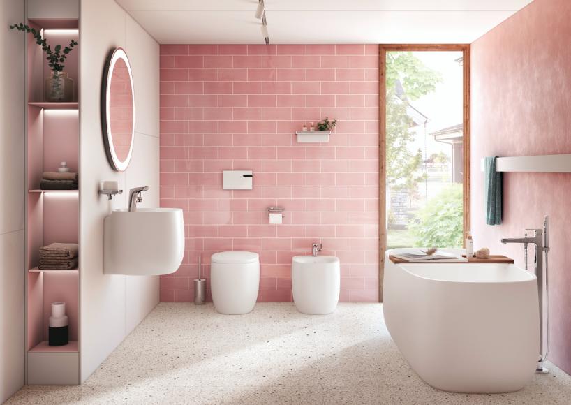 Ванная комната оттенка Insignia