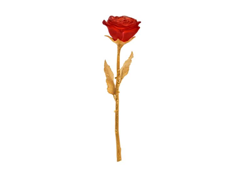 Цветок розы Eternelle, Daum, 131 500 руб. (ЦУМ)