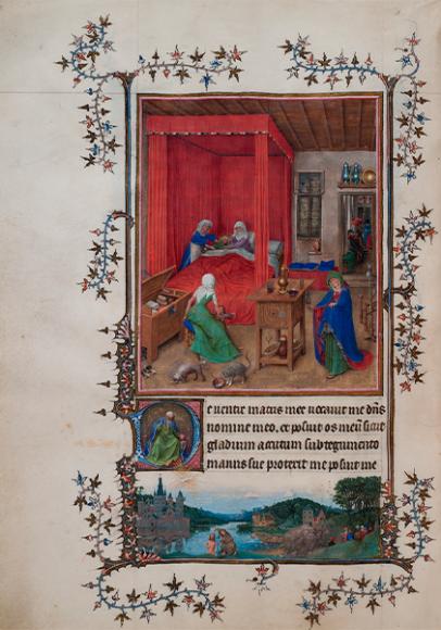 Ян ван Эйк, Турино-Миланский Часослов,1410–1440