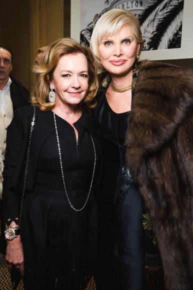 Каролина Шойфеле, сопрезидент и креативный директор компании Chopard, Людмила Крупкина