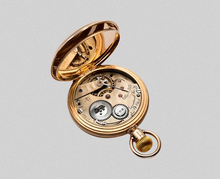 Карманные часы Savonette с калибром Jones, 1875