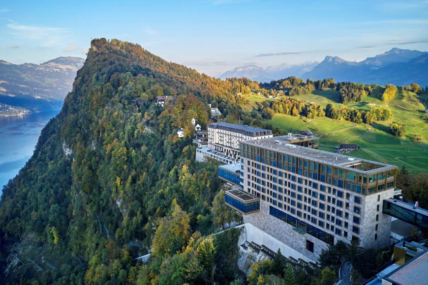 Курорт органично вписан в окружающий ландшафт