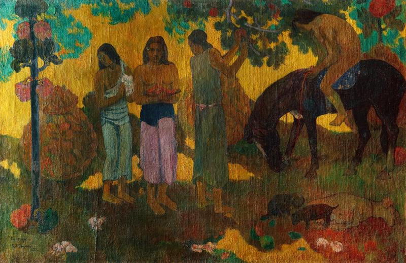 Поль Гоген. «Rupe Rupe. Сбор плодов», 1899 (Из коллекции ГМИИ имени А.С. Пушкина)