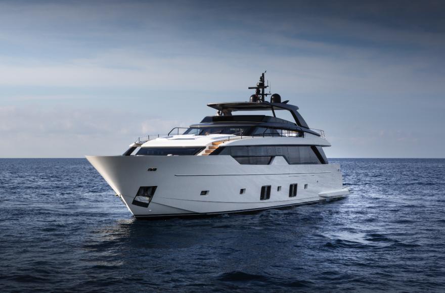 Модель яхты Sanlorenzo SL102 Asymmetric