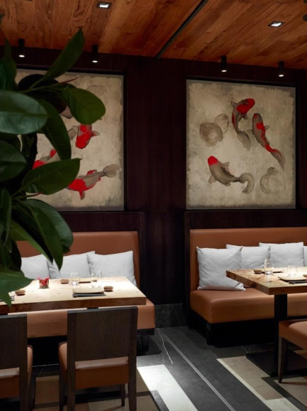 Интерьер японского ресторана Fumisawa Sushi