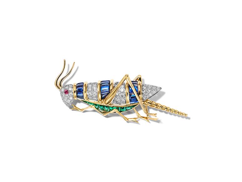 Брошь Grasshopper, Tiffany & Co. Schlumberger