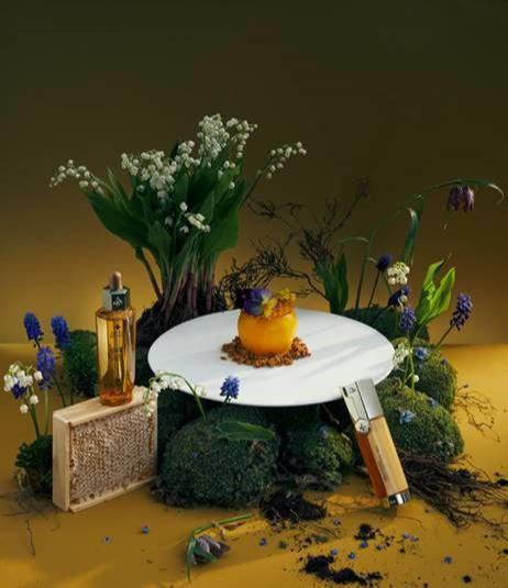 Десерт «Цветущий сад»