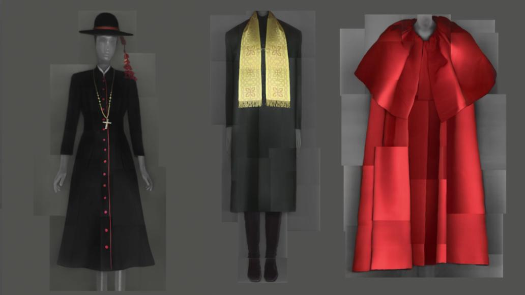 Выставка Heavenly Bodies: Fashion and the Catholic Imagination («Божественные тела: мода и католическое воображение»)