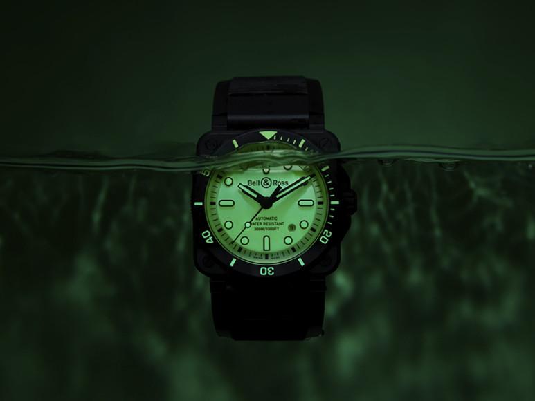 Часы BR03-92 Diver Full Lum, Bell & Ross