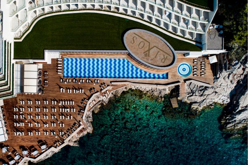 Вид на отель RIXOS PremiumDubrovnik