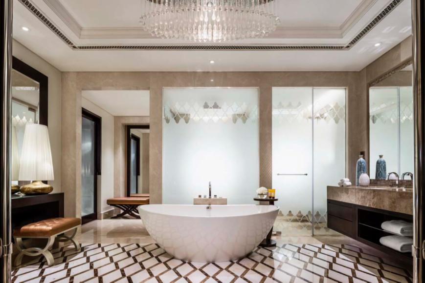 Ванная комната на вилле, отель One&Only The Palm (Дубай)