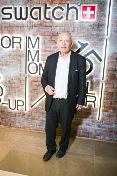 Иосиф Бакштейн, комиссар Московской биеннале современного искусства