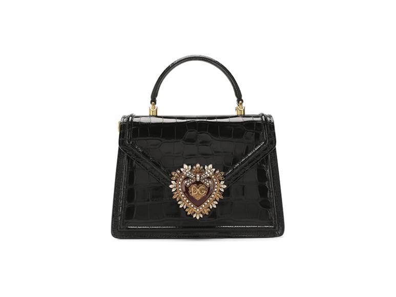 Dolce & Gabbana Devotion из кожи аллигатора, 1 305 000 руб. (Третьяковский проезд, ЦУМ)