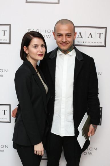Юлия Большакова (журналист, Дорогое удовольствие)  и Алексей Осипчук (стилист, Londa)