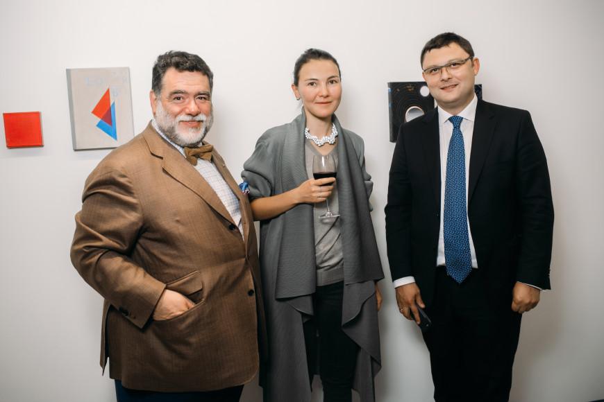 Михаил Куснирович, Дарья Иринчеева и Василий Церетели