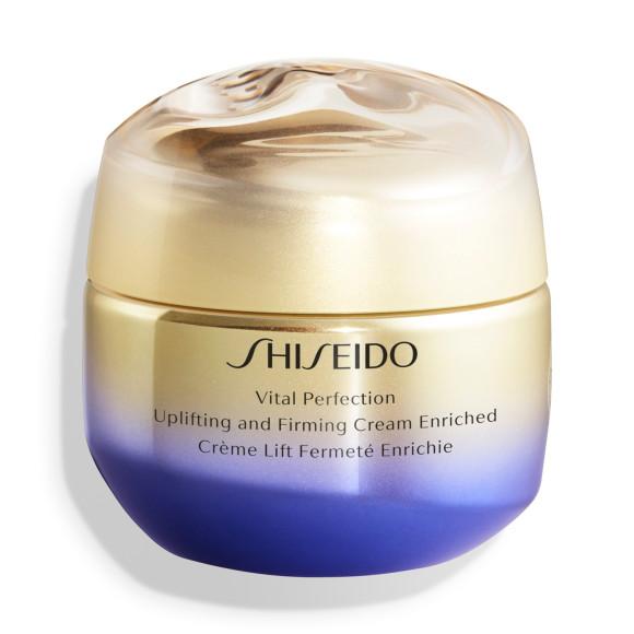Питательный лифтинг-крем, повышающий упругость кожи Uplifting and Firming Cream Enriched, Vital Perfection, Shiseido