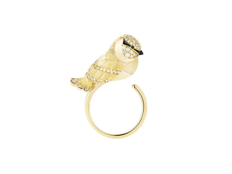Кольцо Meisa the Chickadee, Boucheron